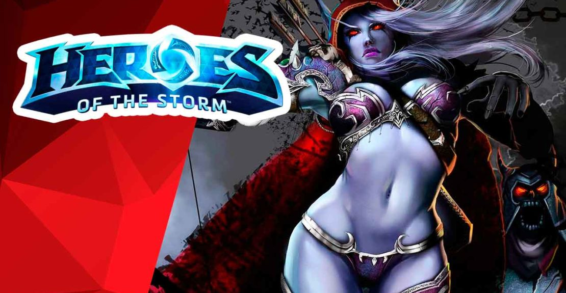 sylvanas – heroes of the storm