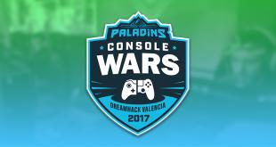 Paladins Torneio Console Wars em Valencia