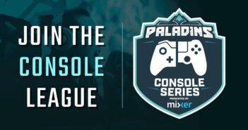 Paladins Console league